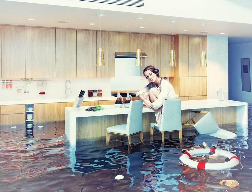 фото залива квартиры