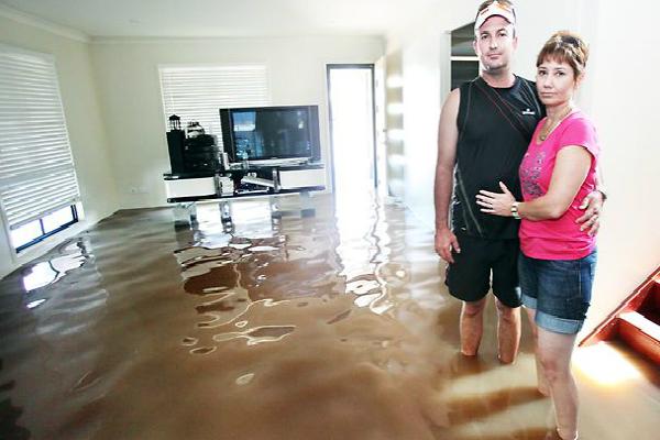 в случае затопления квартиры